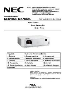 dlp lcd projector service manual and repair guide epson nec rh ebay com Slide Projector Mini LCD Projector
