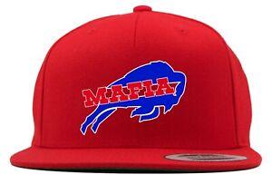 "Tie-Dye RED AJ McCarron Josh Allen Buffalo Bills /""MAFIA/""T-Shirt"
