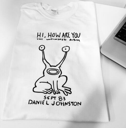 Daniel Johnston As Worn By Kurt Cobain Hi How Are You Unisex Nirvana T-Shirt top