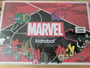 Kidrobot Marvel Labbit Series 2 Sealed Case 20 Boxes Total New