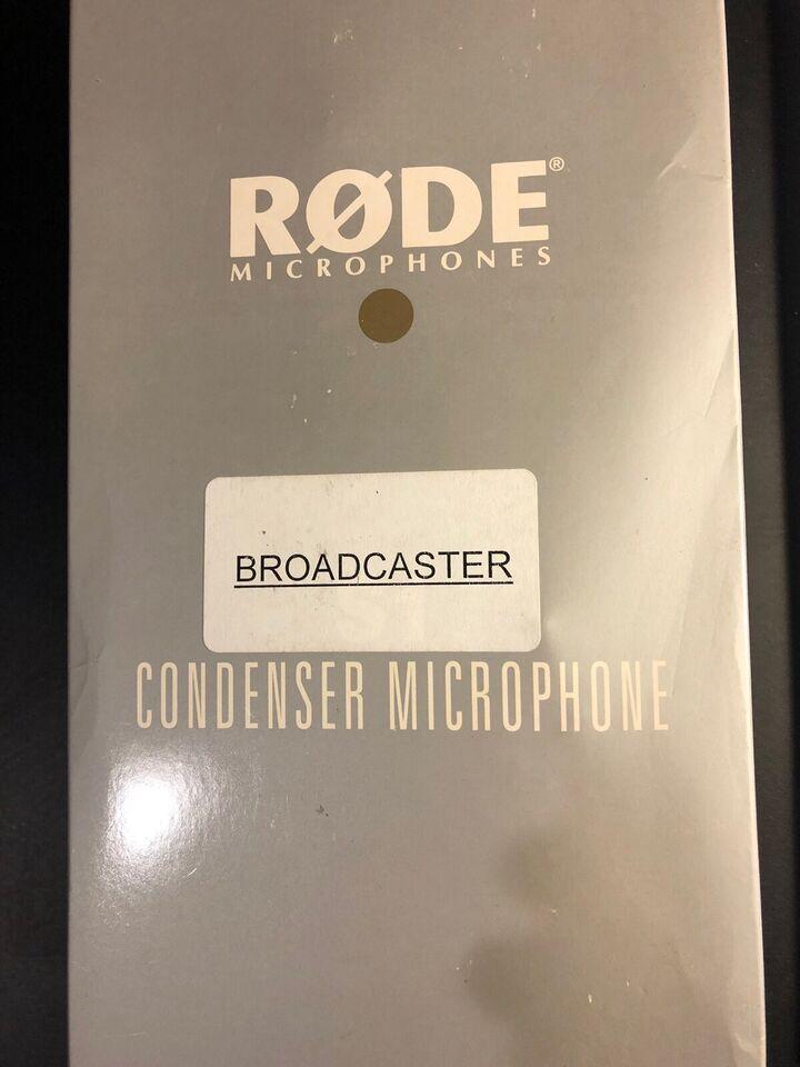 Kondensatormikrofon, RØDE Broadcaster