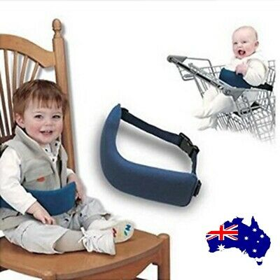 Flight Tracker Portable Seat Kids Feeding Chair Child Infant Safety Belt Booster Seat Harness