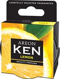 Original Air-areon Ken Nez Duftdose Arbre Désodorisant Couvercle Citron