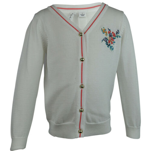 Janie And Jack Embroidered Cardigan