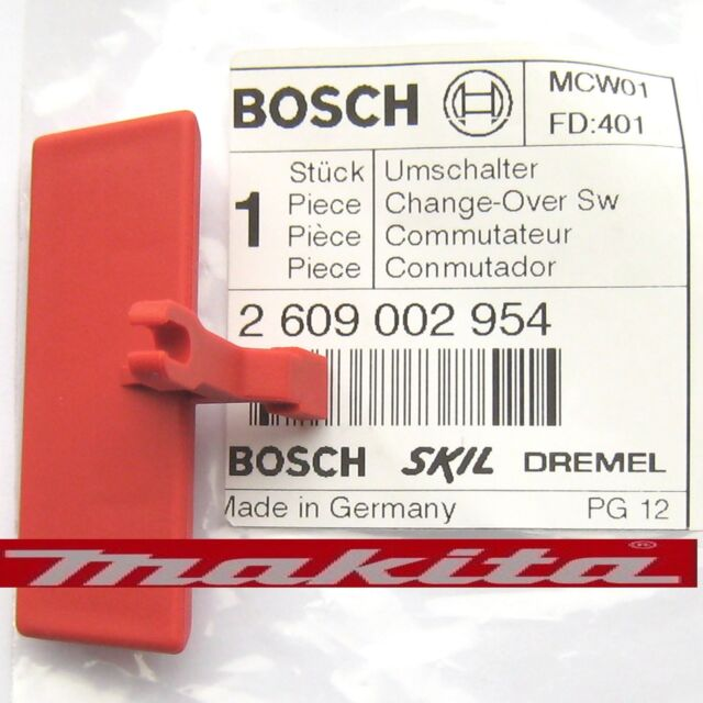 Bosch PSB850-2RE Drill Forward Reverse Change-Over Switch Slide 2 609 002 954