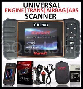 universal diagnostic scanner tool srs abs engine. Black Bedroom Furniture Sets. Home Design Ideas