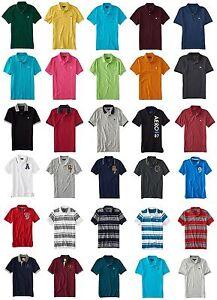 U-pick Aeropostale Homme Aero Logo Polo Shirts Jersey Pique Xs, S, M, L, Xl, 2xl, 3xl-l,3xlfr-fr Afficher Le Titre D'origine