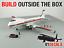 thumbnail 8 - V1 Decals Boeing 737-700 Westjet Tartan Tail for 1/144 Revell Model Airplane Kit
