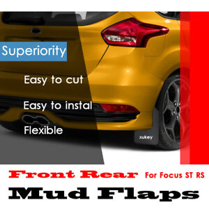 4pc-Set-Splash-Guards-For-Ford-Focus-ST-RS-SE-ST170-Mudflaps-Mud-Flaps-Mudguard