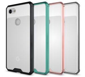 Pour-Google-Pixel-3-3-XL-2018-Arriere-Rigide-Antichoc-Slim-Etui-de-Telephone