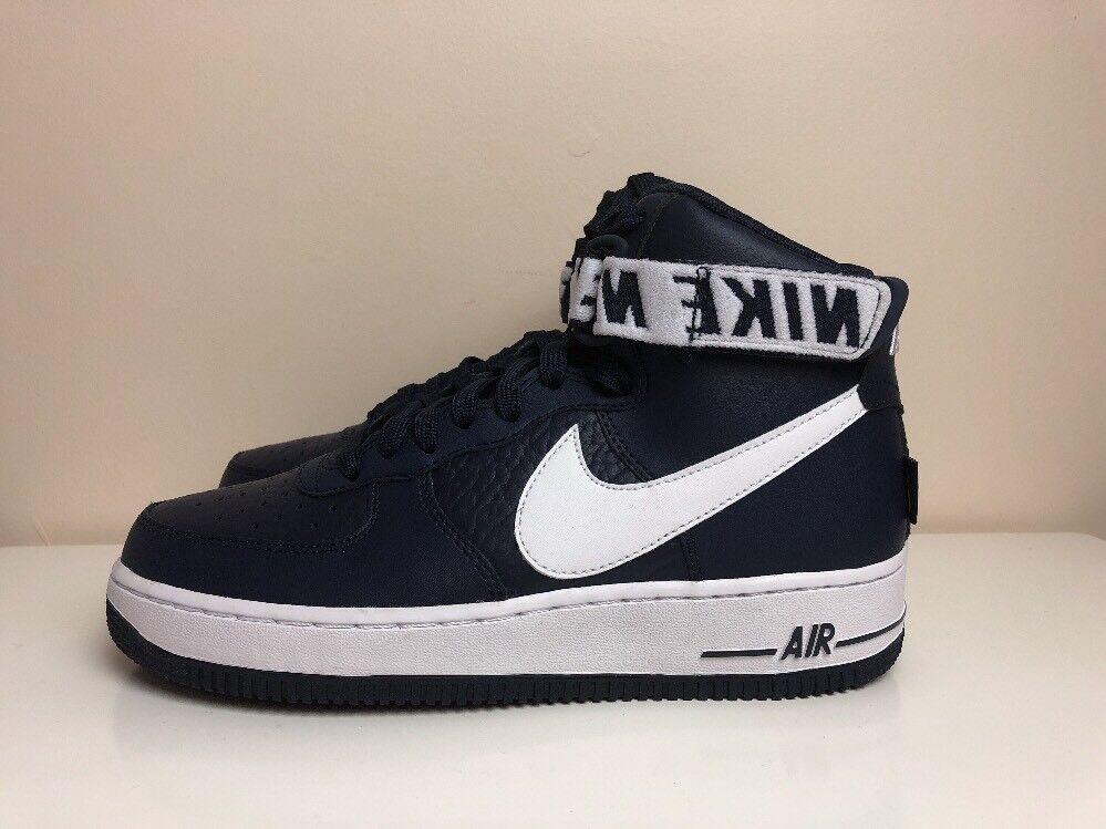 Nike Air Force 1 High 07 07 07 NBA Schuhes Blau UK 6 EUR 39 315121 414 1d06f8