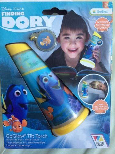 Motion Activated Disney Pixar Finding Dory Go Glow Tilt Torch