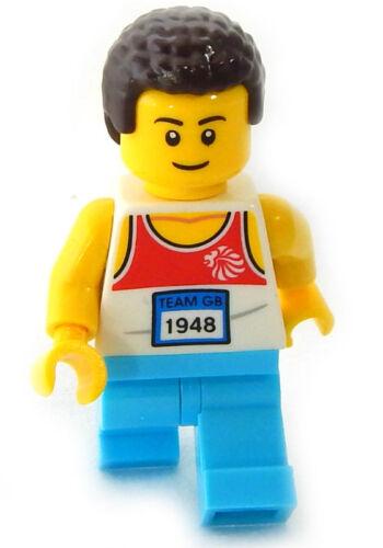 NEW LEGO JOGGER minifigure figure minifig jogging man city town fitness aerobics