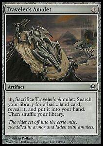 Traveler-039-s-Amulet-X4-EX-NM-Innistrad-MTG-Magic-Cards-Artifact-Uncommon