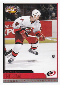 03-04-Pacific-Complete-Eric-Staal-99-Rookie-RED-Parallel-2003