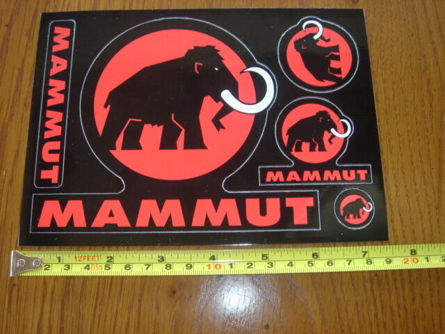 MAMMUT Climbing 5 STICKERS Decals
