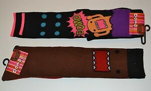 Domo Knee High & Over Knee Socks Officially Licensed Domo Animation Planet SOX