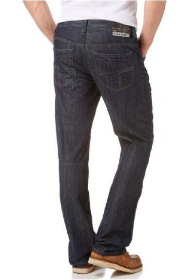 Timezone Cesare Tz Jeans New W31,W32,W33 L30 Men's Denim Trousers bluee Straight