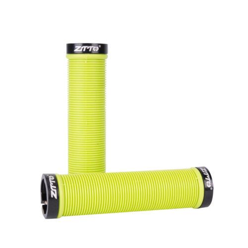 Anti-Slip Bike Mountain Bicycle Handlebar Grip Plastic Resin Handle Bar Grips