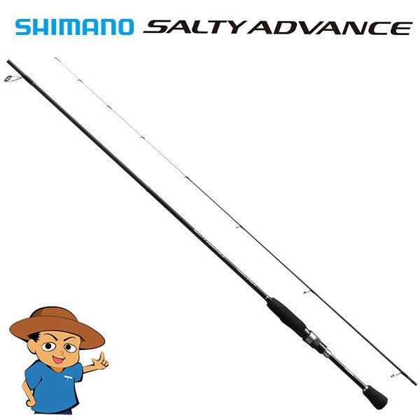 Shimano SALTY ADVANCE S76UL-S Ultra Licht spinnende hengel