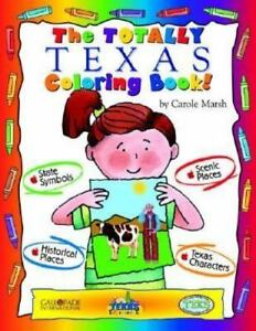 Details about TERRIFIC TEXAS COLORING BOOK! - NEW HARDCOVER BOOK