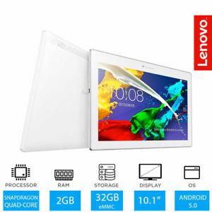 """Lenovo Tab 2 A10-30 - 10.1"""" Android Tablet Snapdragon de cuatro núcleos, 2GB Ram, 32GB"""