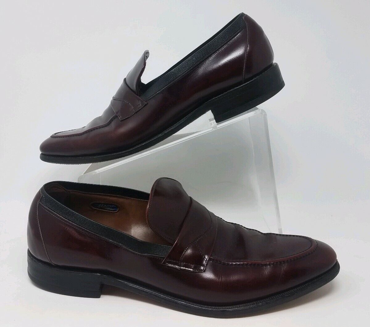 Allen Edmonds Sutton Mens Burgundy Slip On Loafers new shoes shoes Size 12 MUSA