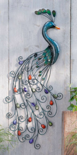 Special Indoor// Outdoor Metal Colored Wall Decor With Unique Style For Home Use