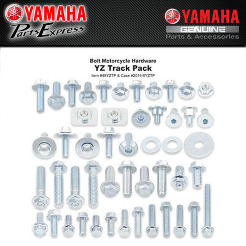 BOLT HARDWARE YZ YZF TRACK PACK KIT FACTORY BOLTS NUTS 85 125 250 450 020-00116