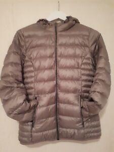 Details zu Top Zustand!!! Graue leichte Daunenjacke für Damen Größe 38 von Ernstings!!!