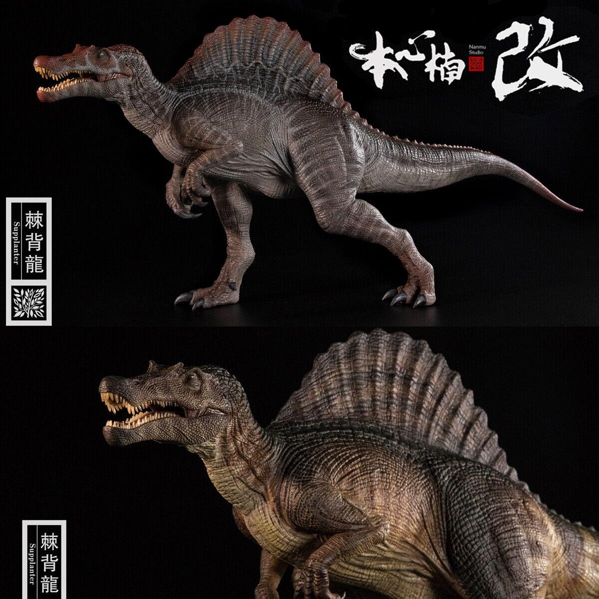 Nanmu Supplanter Spinosaurus Figure Spino Dinosaur Modell Collector Spielzeug Kinder Geschenk