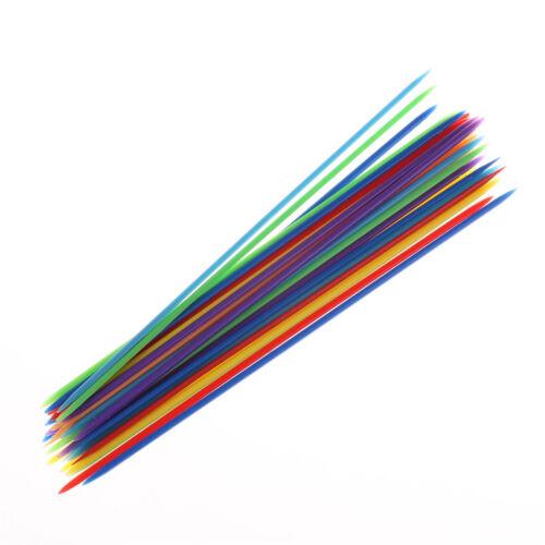 30pcs//set Classic Plastic Pick Up Sticks Set Traditional Game Toy BHS