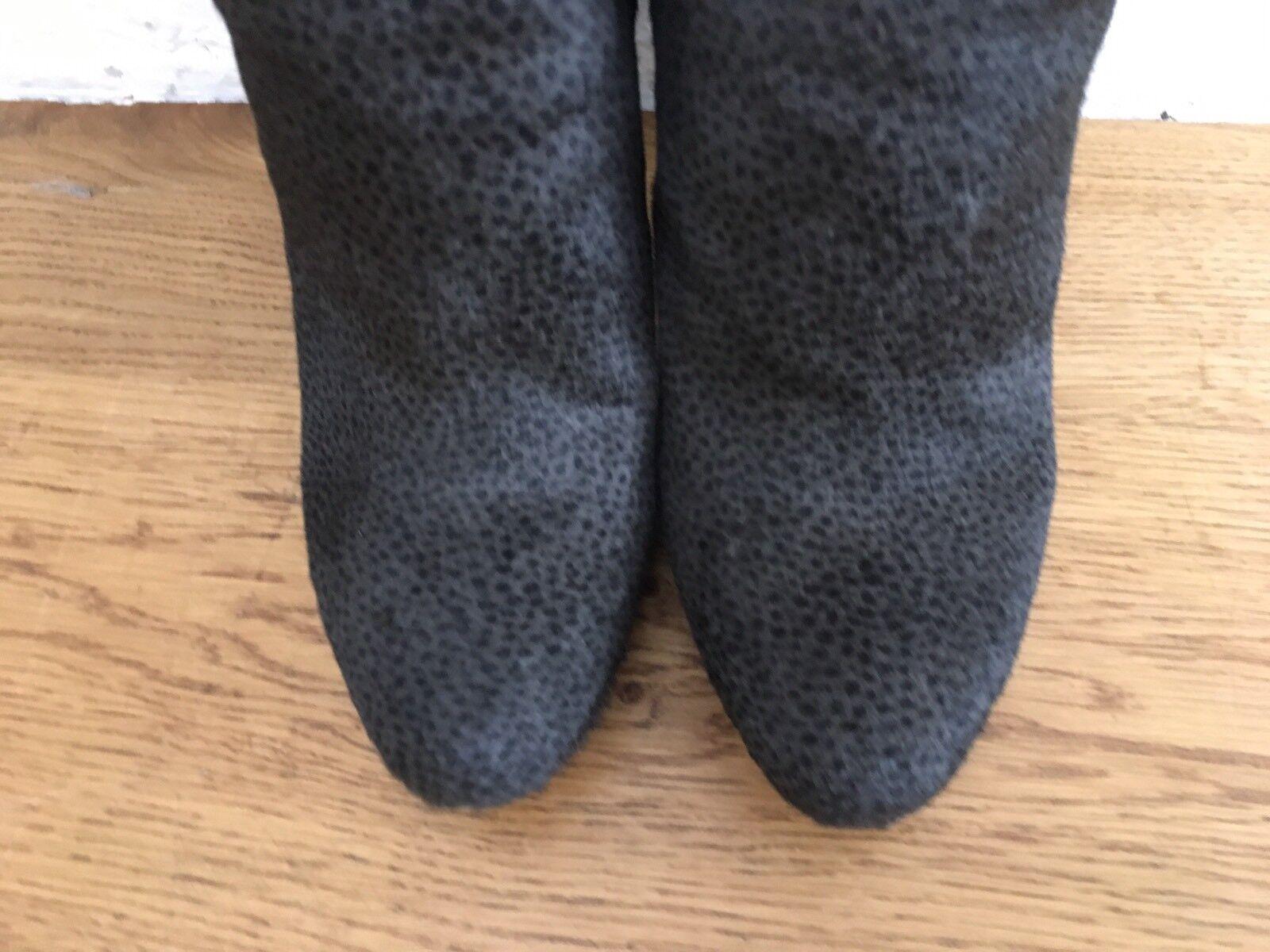 Prada Calf Hair Ankle Booties Short High Heel Boots $1250 Sz Sz $1250 39.5 US 9.5 744079