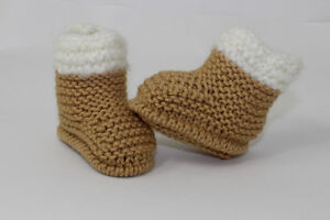 KNITTING-INSTRUCTIONS-CHUNKY-BABY-FUR-TOP-BOOTIES-SHOES-BOOTS-KNITTING-PATTERN
