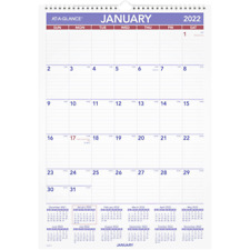 At A Glance Erasable Monthly Wall Calendar 12 X 17 Jan Dec Pmlm022822