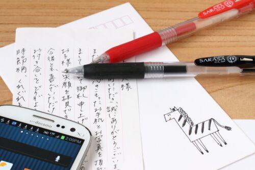 ZEBRA RJF4-BL JF-0.4 sarasa Refill 0.4mm Blue ink For ballpoint pen #10 pcs