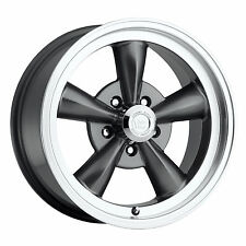 1- 17x9 Vision 141 Legend 5 5x4.75 0mm Gunmetal Wheel Chevy Nova Buick 5 Lug Rim
