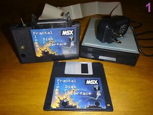 MSX-2-2-FDD-Fractal-Floppy-Disk-Drive-interface-KIT-complete-ready-to-use-NEW