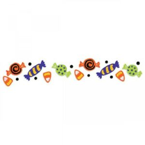 Candy-Sizzix-Sizzlits-12-034-Halloween-Decorative-Strip-Die-655555-NEW