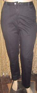 Lee-Casuals-Size-16M-Dark-Blue-100-Cotton-Straight-Leg-Pants