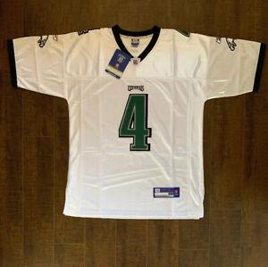 Details about Kevin Kolb Reebok Authentic Philadelphia Eagles Jersey - New Size 52 (B2)