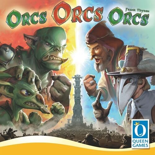 Orcs Orcs Orcs Boardgame by Queen Games New New New English   French   German 60eb51