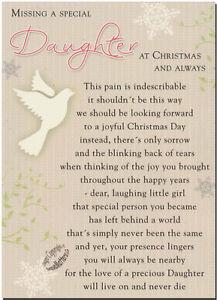 Christmas-Grave-Card-Special-Daughter-FREE-HolderC116-Memoriam-Funeral-Memorial