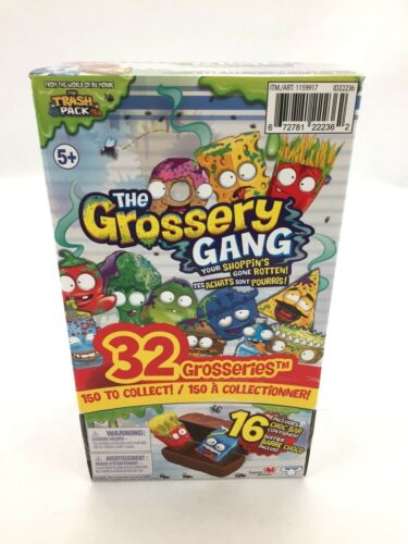 The Grossery Gang Collectibles Pack of 32 From The World of The Trash Pack