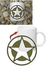 Allied Star Kaffee Becher Tasse Coffee Mug Star US Army Navy WWII WK2 Marines