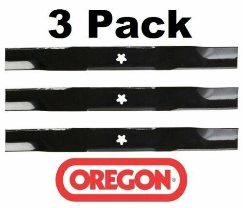 3 Pack Oregon 95-087 Mower Blade Fits John Deere 539113425