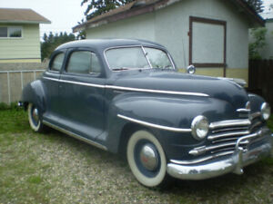 1947 plymouth for sale coupe