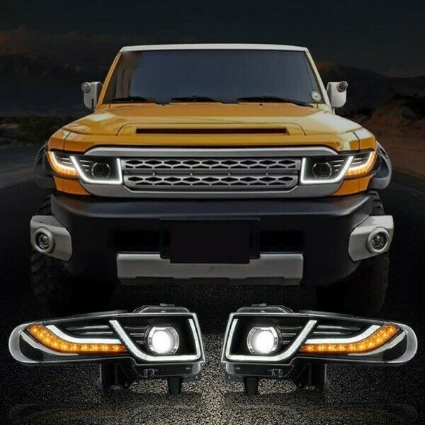 FJ Cuiser LED Headlight and Taillight Kit with Grill