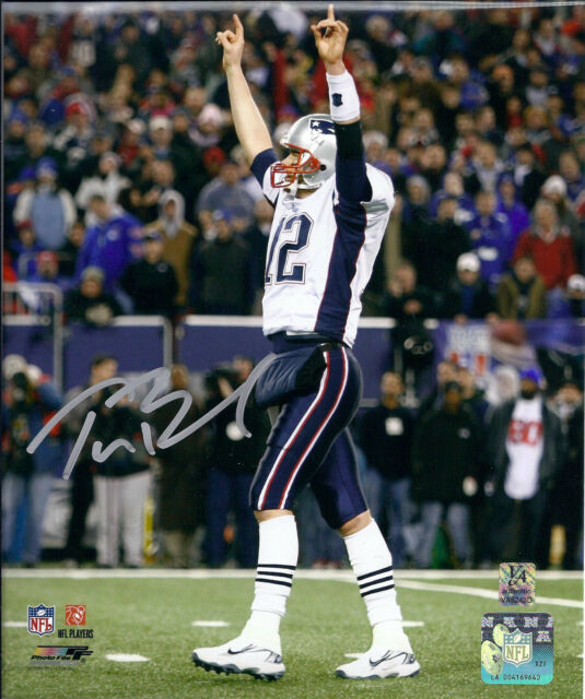 TOM BRADY AND RON GRONOWSKI  ( PATRIOTS ) - 3 GREAT 5 x 7 SIGNED PHOTO REPRINTS
