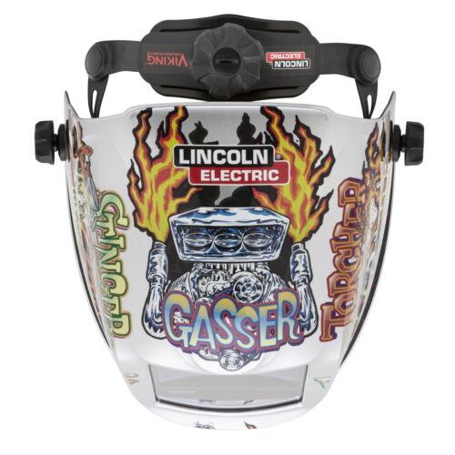 Lincoln Viking 3350 Hot Rodders Auto Darkening Welding Helmet 4C Lens K4440-4